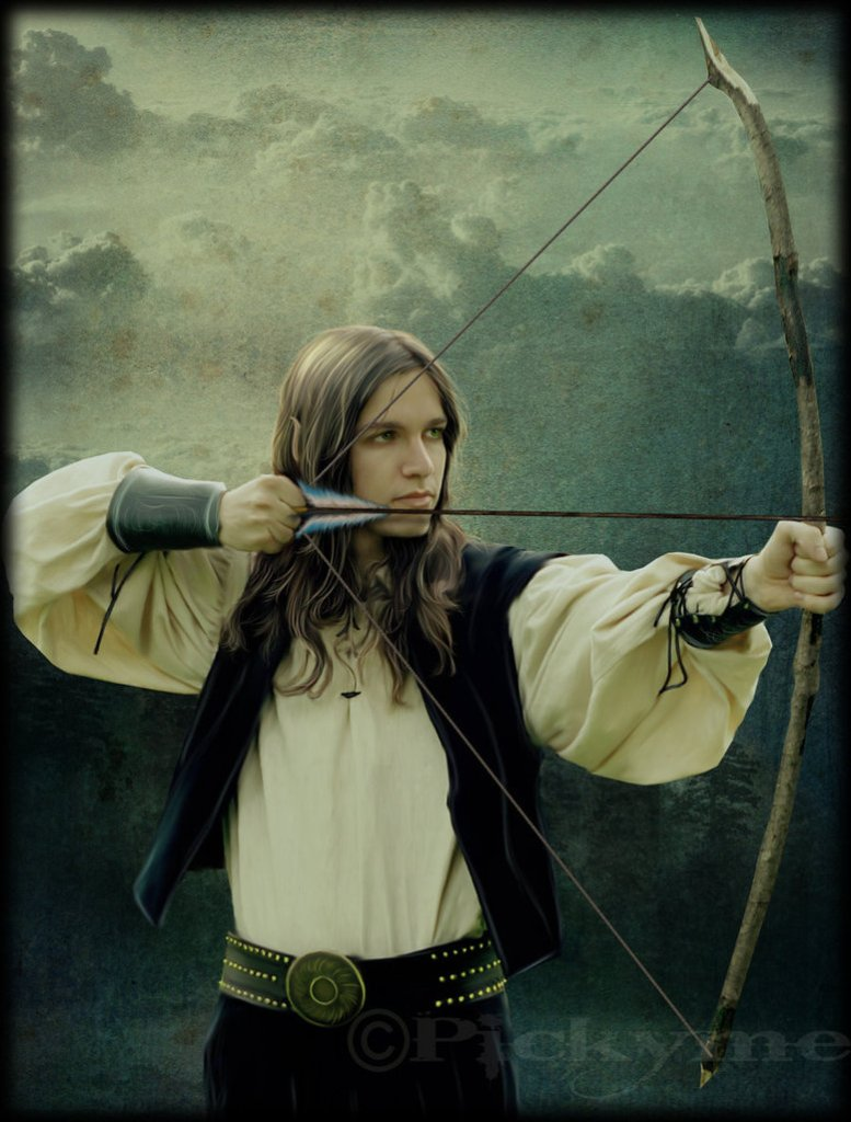 Elven_Archer_by_Pickyme