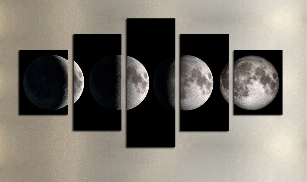 5 Pieces of Moon
